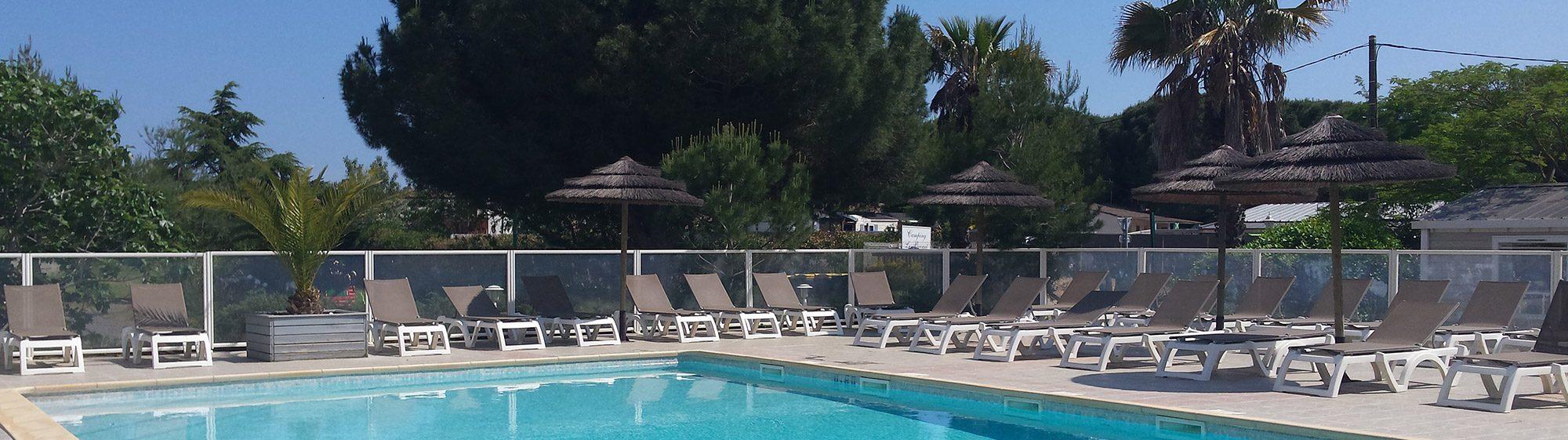 Camping avec piscine à Agde