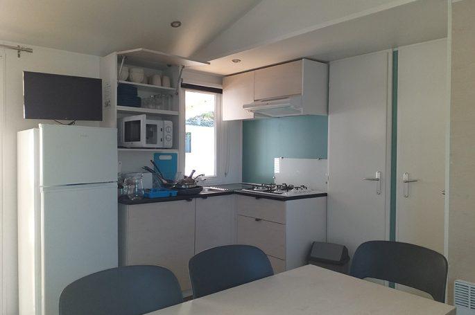 Cuisine Mobil-home Premium 3 chambres