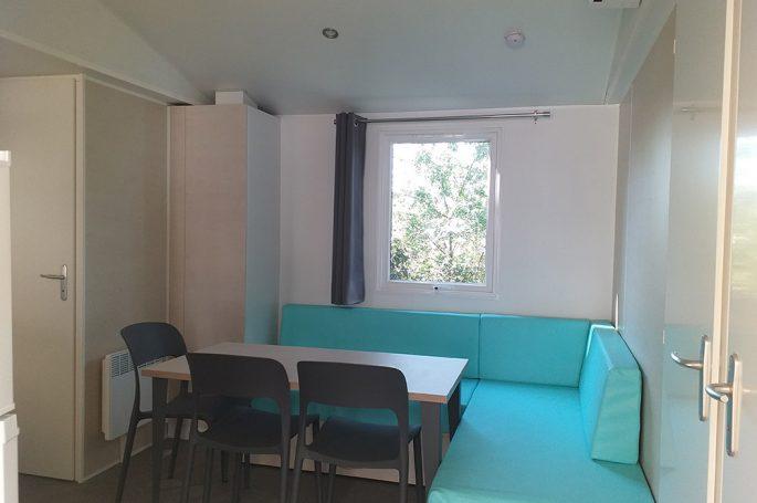 Séjour Mobil-home Premium 3 chambres