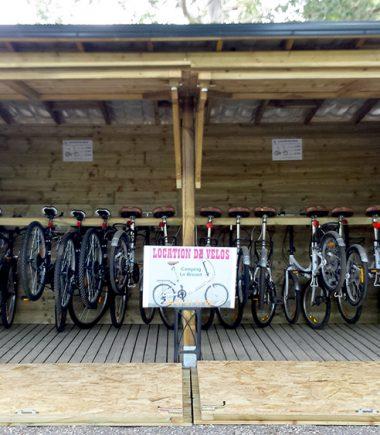 Location de vélo au camping les Roches d'Agde